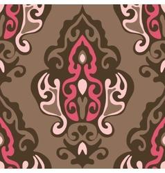 Damask seamless vector image