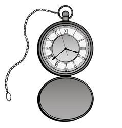 Pocket watches design clock separate vector
