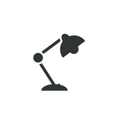 reading lamp icon simple school element symbol vector image