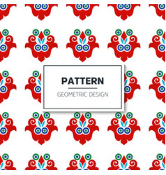 Turkish seamless pattern vector