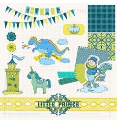 Little Prince Boy Set vector image vector image