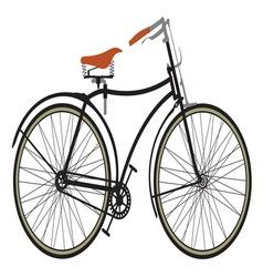Retro bike1 resize vector image vector image