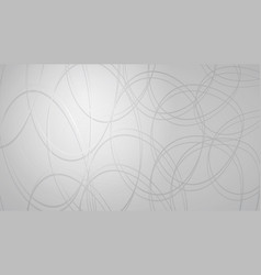 abstract background of intersecting circles vector image
