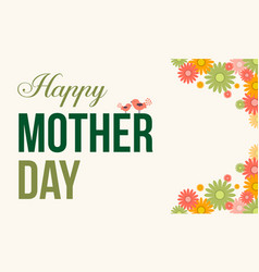 Mother day style vector