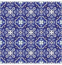 Seamless symmetrical pattern vector image