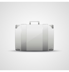 Business briefcase modern icon vector image