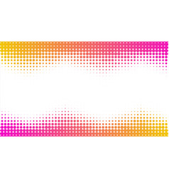 halftone dots background geometrical pattern vector image