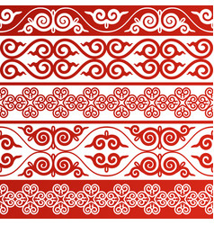 oriental ornament vector image