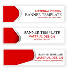 3 variant template scribble red crayon on white vector