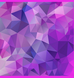 Abstract irregular polygon square background pink vector