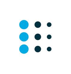 blur icon colored symbol premium quality isolated vector image