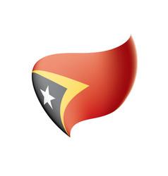 East timor flag vector