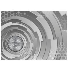 electronic disco ball vector image