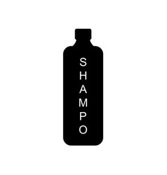 icon shampoo vector image