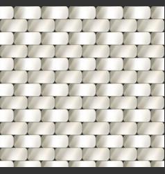 industrial seamless metal plate vector image
