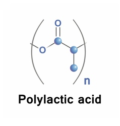 Polylactic acid vector