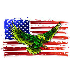 the national symbol usa vector image