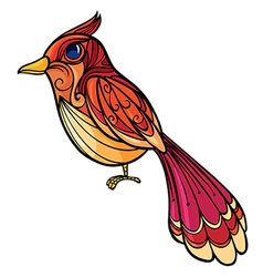 A colorful bird vector image vector image