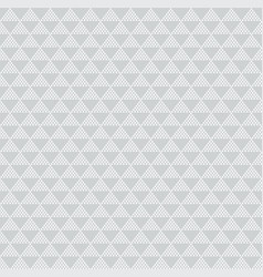 abstract geometric white triangle pattern on gray vector image