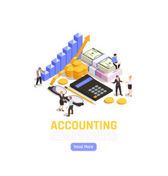 Accounting isometric vector