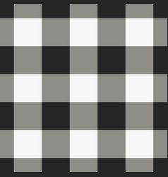 black and white check pattern vector image