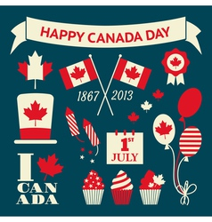 Canada Day Design Elements Collection vector