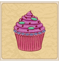 cupcakes01 vector image