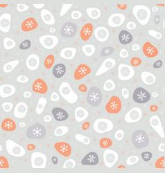 festive christmas snowflake design vector image