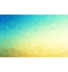 Geometrical polygon abstract background vector image