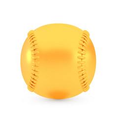 golden baseball award concept shiny realistic vector image