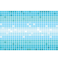 pixel square tiles mosaic abstract vector image