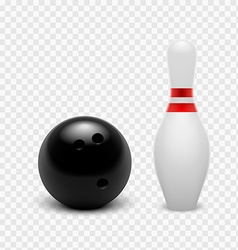 Tenpin Bowling Icon Set vector