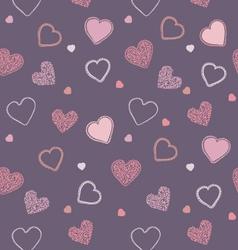 Valentine blueberry pattern vector