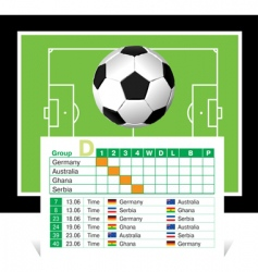 world cup 2010 vector image vector image
