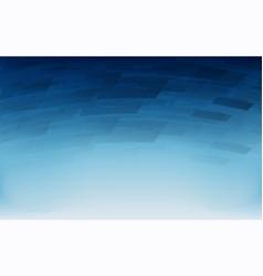 abstract dark blue geometric overlap background vector image