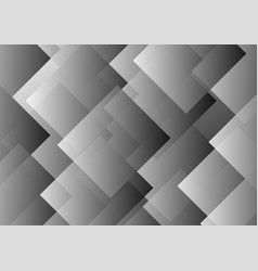 Abstract gray transparent rhombus background vector