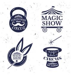 Circus poster vector