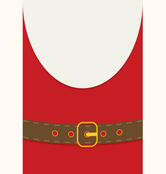 flat style design santa claus vector image