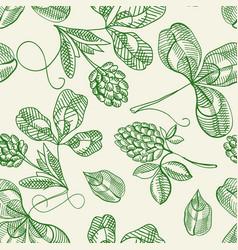 Hop seamless pattern doodle vector
