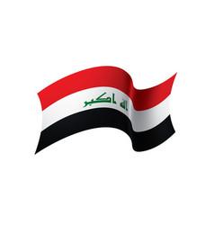 Iraqi flag vector