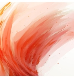 Abstract banner paints background vector image