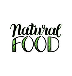 eco natural food menu background sketch hand vector image