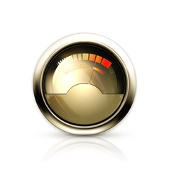 Audio Gauge vector image