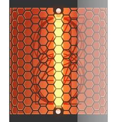 Radio tube 1 vector image vector image