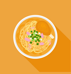 chiang mai noodle vector image