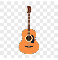 acoustic guitar musical instruments vector image