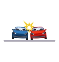 Car and transportation accident vector