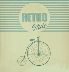 Cart vintage vector image