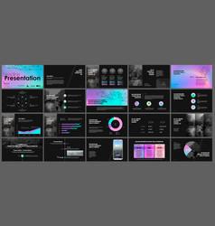 tri fold business brochure creative corporate vector image
