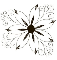 Decorative element border vector image